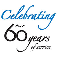 60 years of service